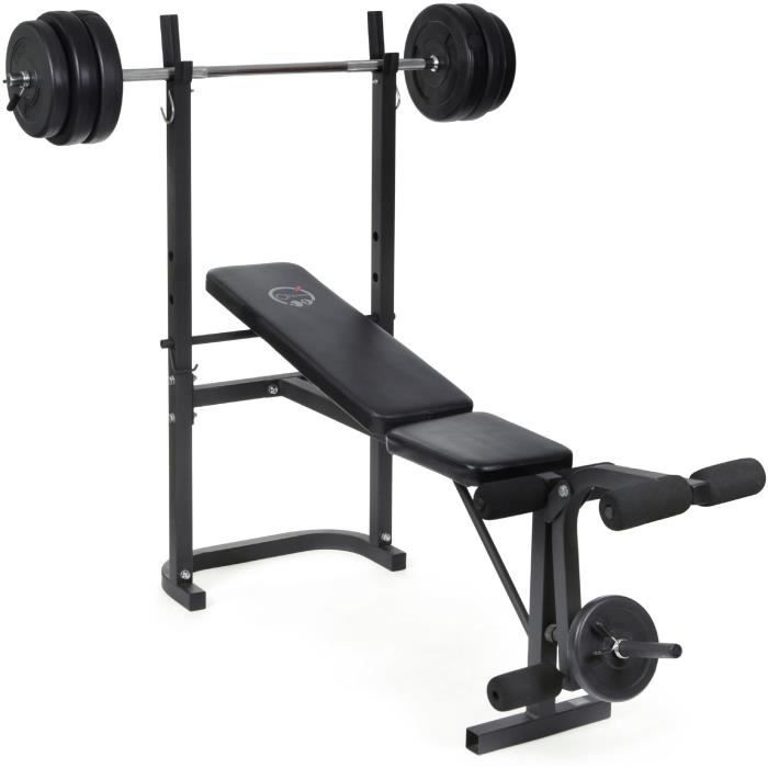 Achat banc musculation musculation sport fitness loisirs discount page 1 - Banc de musculation care ...