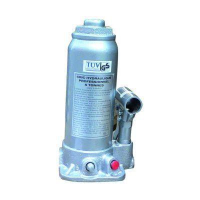 CRIC Cric bouteille hydraulique corps en fonte 5 tonnes