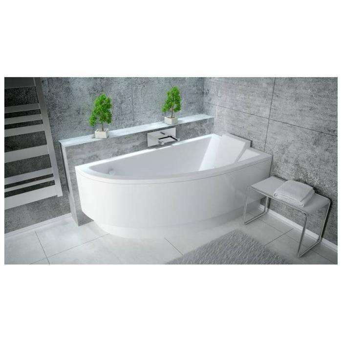 baignoire d u0026 39 angle oriego droite ou gauche avec tablier