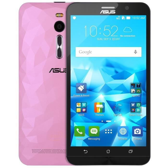 asus zenfone 2 ze551ml rose cran fhd 5 5 pouces android. Black Bedroom Furniture Sets. Home Design Ideas