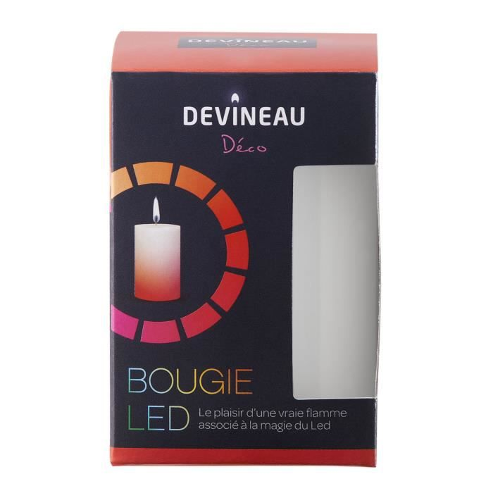 Bougie LED - Achat   Vente Bougie LED pas cher - Cdiscount 7097a9f05f0f