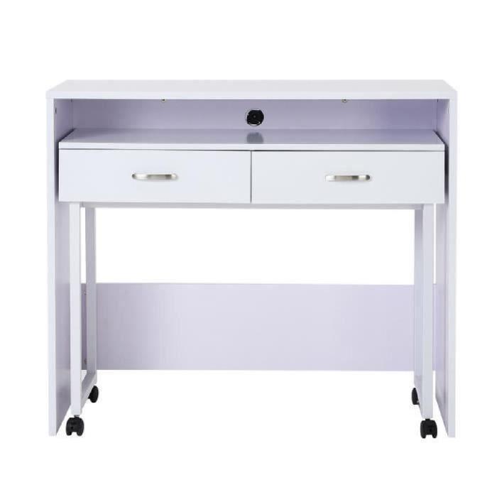 bureau meuble informatique avec table amovible a r Résultat Supérieur 5 Beau Bureau Informatique 100 Cm Stock 2017 Xzw1