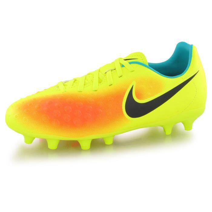 purchase cheap d44b8 4a5e1 Nike Magista Opus Ii jaune, chaussures de football mixte