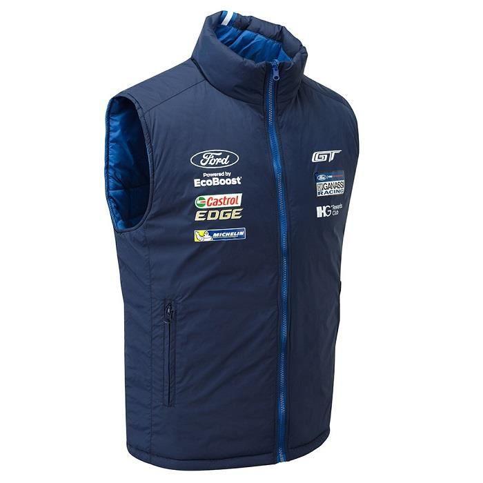 Ford Pour Bleu Achat Homme Veste Gilet Team Blouson Vente 7twPU