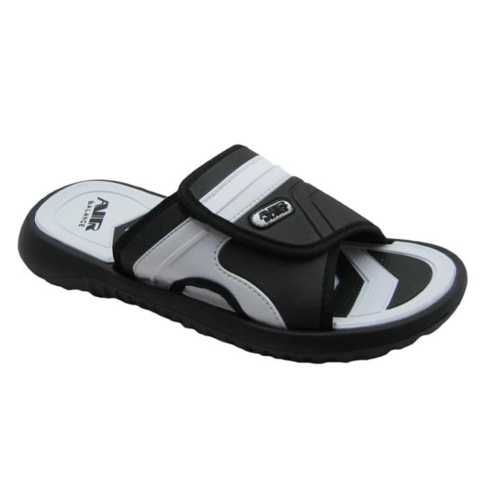 Air Boys Comfortable Shower Beach Sandal Slippers W-adjustable Strap In Classy Colors OVWZZ Taille-39