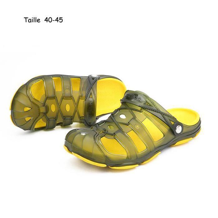 Sandales été Hommes Sandales Hommes Nouvelle Chaussures Plage Mode rZqwrntCE