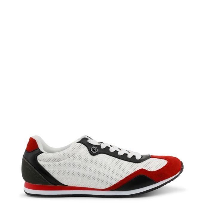 4e7acec67542 Versace Jeans - Sneakers pour homme (YRBSA3 MHR BIANCOROSSO) - Blanc ...