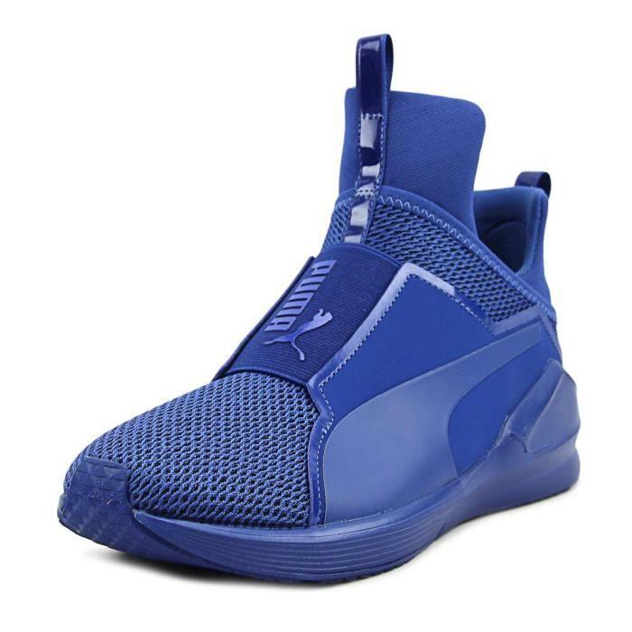 detailed look 51457 79640 BASKET Puma Fierce Knit Femmes US 8.5 Bleu Baskets