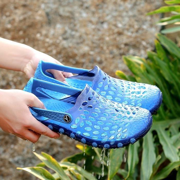 Les Sandales d'été pour les hommes Outdoor Soft Light Casual Chaussures antidérapants B0z9Ir