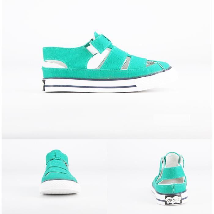 Basket Chaussures de toile d'été pour enfants Chaussures de sport respirantes Chaussures de sport casual Chaussures de course MtoTepo