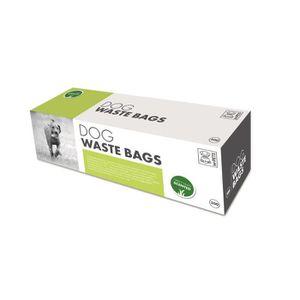 MPETS Recharge ramasse crottes DOG WASTE BAGS - Pour chien - 300 pcs - Senteur herbe verte