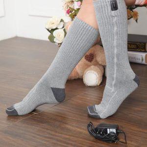 CHAUSSETTES 5v Gris trésor chaude Batterie chaussettes chauffé