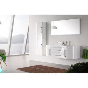 Meuble salle bain 2 vasques Achat Vente pas cher
