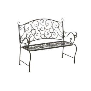 banquette fer forge achat vente banquette fer forge. Black Bedroom Furniture Sets. Home Design Ideas