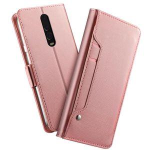 HOUSSE - ÉTUI OnePlus 6T Flip Coque Premium PU Étui Housse Coque