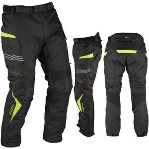 308bb6cb4d5 VETEMENT BAS Moto Pantalon Impermeable Thermique Protections CE ...