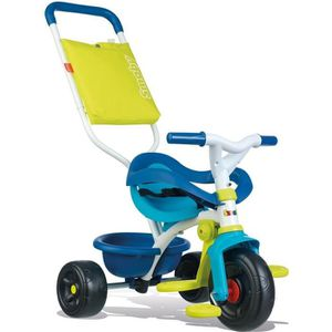 TRICYCLE SMOBY Tricycle Enfant Evolutif Be Fun Confort Bleu