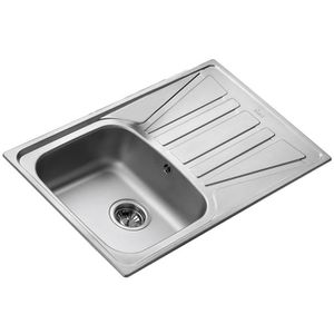 Evier D Angle Inox Lisse Vardo 1 Bac 2 Egouttoirs Achat Vente