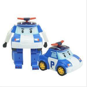 CASSE-TÊTE 1pcs Q version Robocar Poli - Robot Voiture jouet