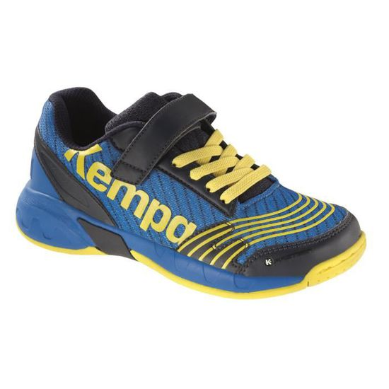 2068946e9b800 CHAUSSURES DE HANDBALL KEMPA Chaussures de Handball Attack Junior - Bleu