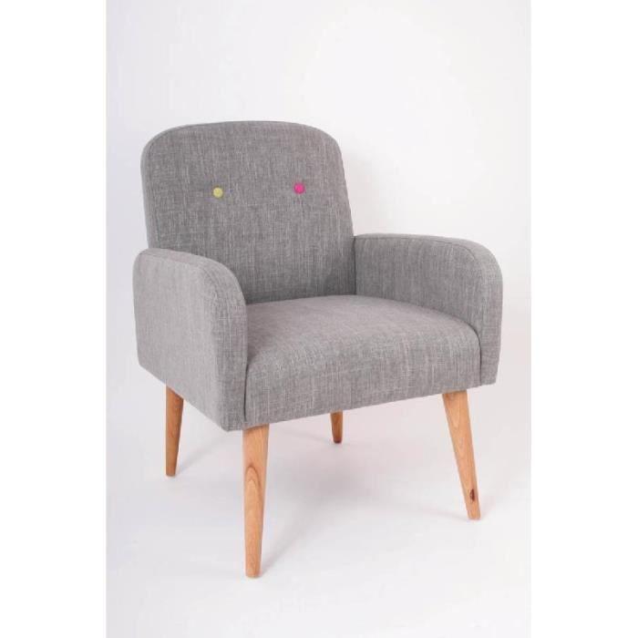 fauteuil design en bois et tissu avec accoudoirs collection vintage achat vente fauteuil. Black Bedroom Furniture Sets. Home Design Ideas