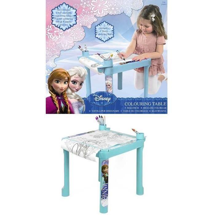 table coloriage reine des neiges disney frozen achat. Black Bedroom Furniture Sets. Home Design Ideas