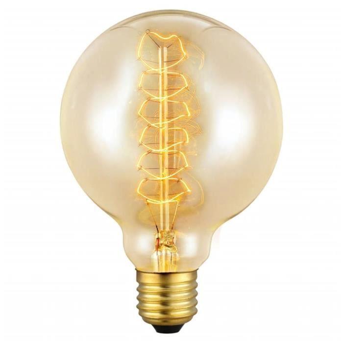eglo vintage agent lumineux 49505 achat vente ampoule led eglo vintage agent lumineux. Black Bedroom Furniture Sets. Home Design Ideas