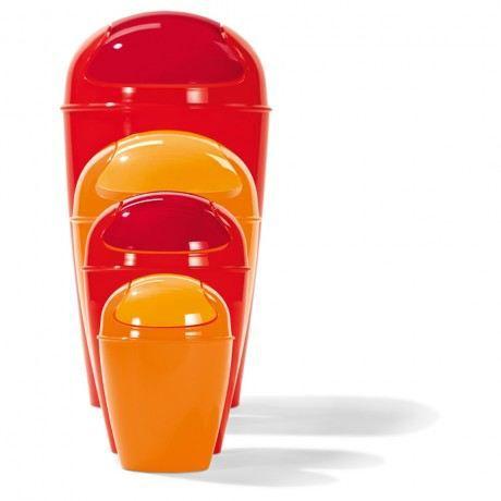 Grand Poubelle DEL XL H 65 CM   Orange