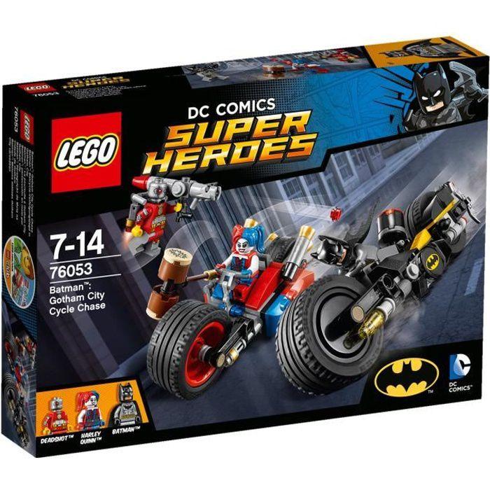 lego dc universe super heroes 76053 batman la poursuite gotham city achat vente. Black Bedroom Furniture Sets. Home Design Ideas