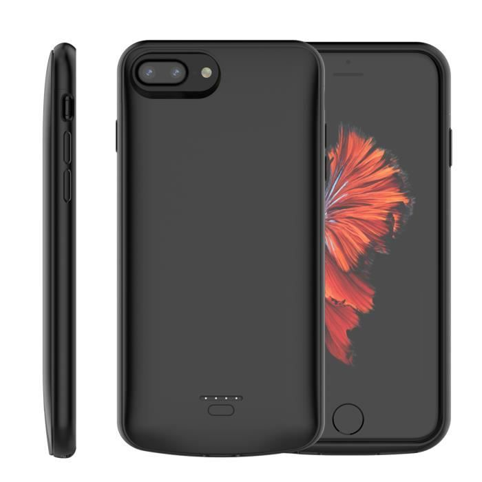 coque iphone 8 plus chargeur