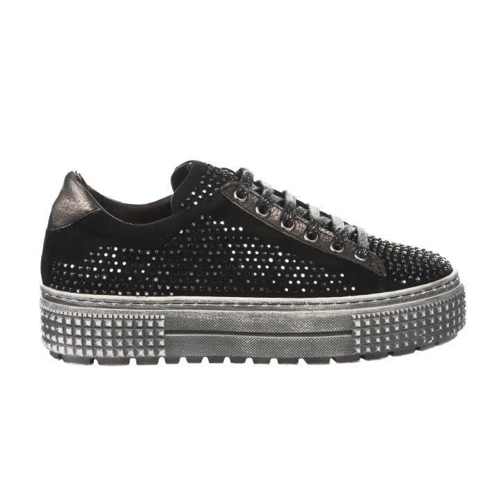 Baskets mode femme - MIGLIO - Noir - 385 - Millim