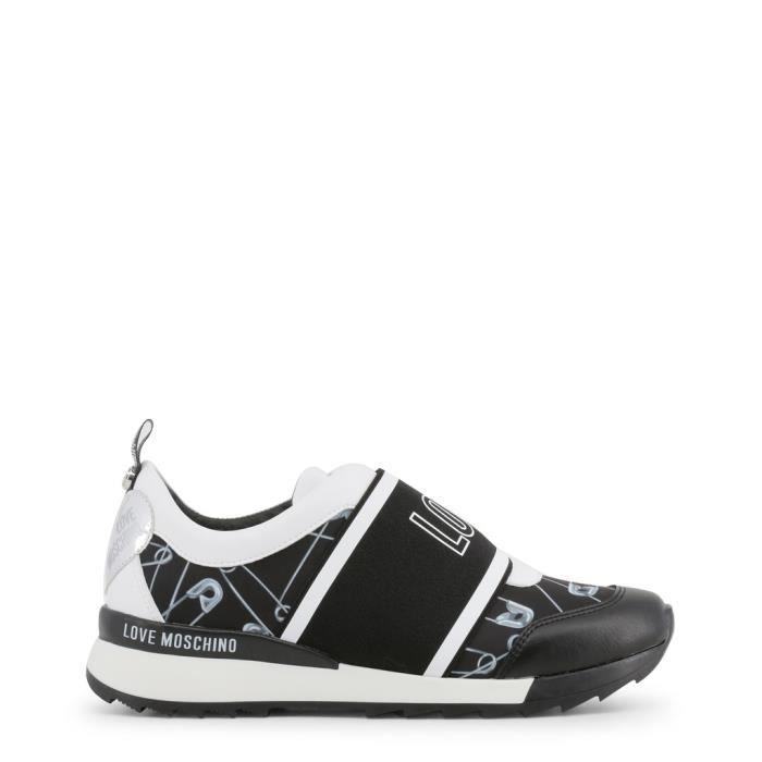 Love Moschino - Sneakers pour femme (JA15032G16IR 100A) - Noir Noir ... 3b767e3b6a48