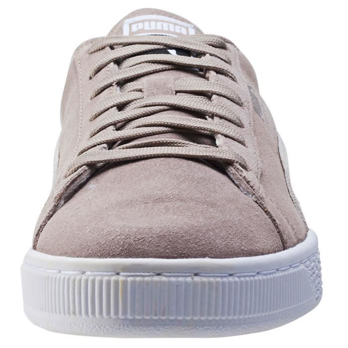 ClassicHommes Uk Taupe9 Puma Baskets Suede nPXN08kwO