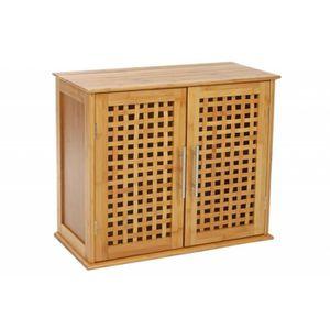meuble de salle de bain en bambou 2 portes Résultat Supérieur 15 Beau Meuble Bas De Salle De Bain Pas Cher Galerie 2017 Xzw1