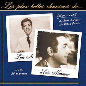 CD MUSIQUE CLASSIQUE CD LES PLUS BELLES CHANSONS DE LUIS MARIANO - VOLU