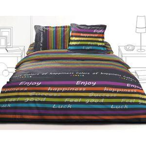 couette imprim e 240 260 400g m2 noel 2017. Black Bedroom Furniture Sets. Home Design Ideas