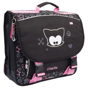 CARTABLE KID'ABORD CHACHA Cartable - 2 Compartiments - 38 c