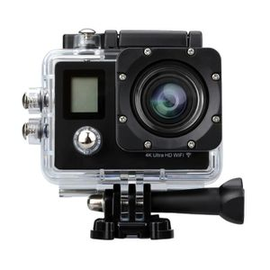 CAMÉRA SPORT Excelvan F8 4K HD Caméra Action Sport Ultra 2 Écra