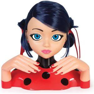 TÊTE À COIFFER IMC TOYS Tête à coiffer de luxe Miraculous Ladybug