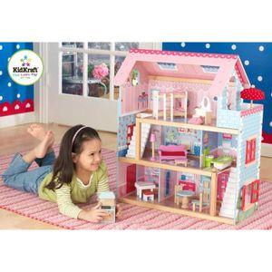 MAISON POUPÉE Maison de poupées Chelsea KidKraft 19 pièces