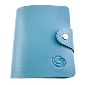 CARTE A COLLECTIONNER Mini classeur souple Lagiwa® BLEU pour Cartes Poke