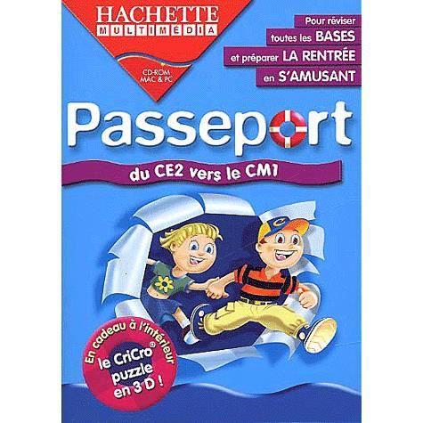 AUTRES LIVRES Passeport ce2/cm1