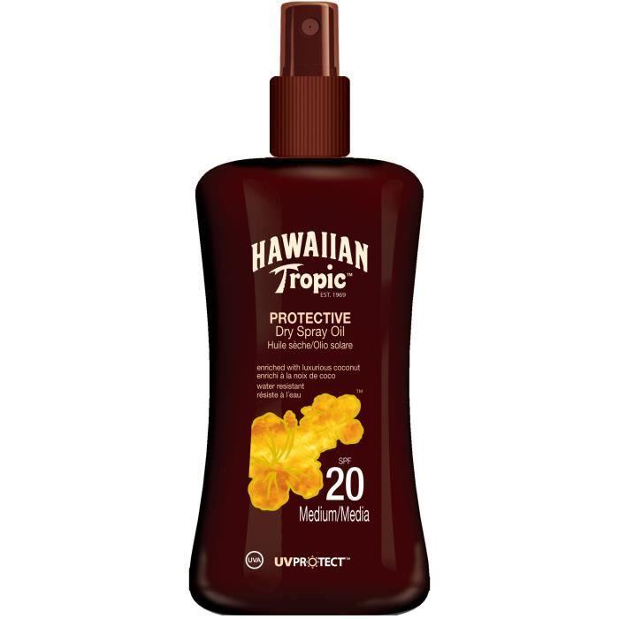 HAWAIIAN TROPIC Huile sèche protectrice FPS20