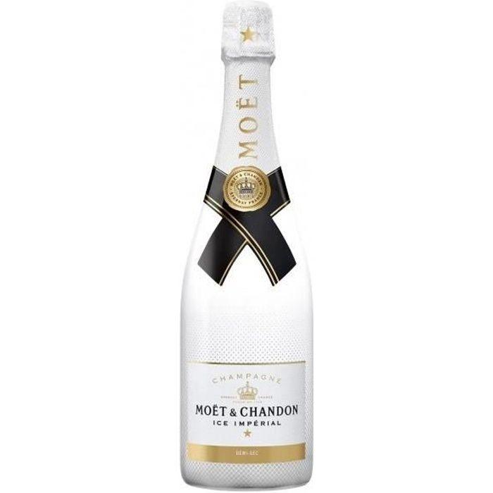 Moët et chandon ice impérial champagne brut blanc 75 cl