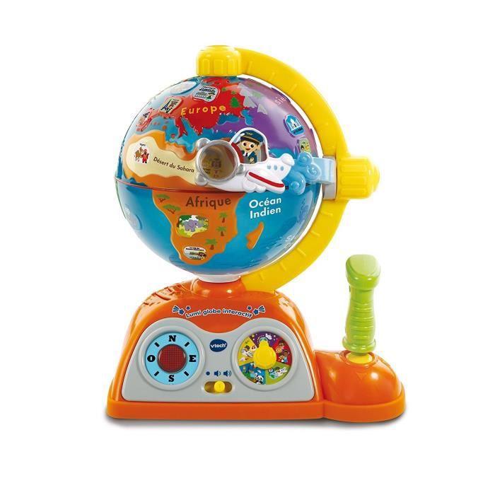 VTECH Lumi Globe terrestre enfant Interactif et éducatif