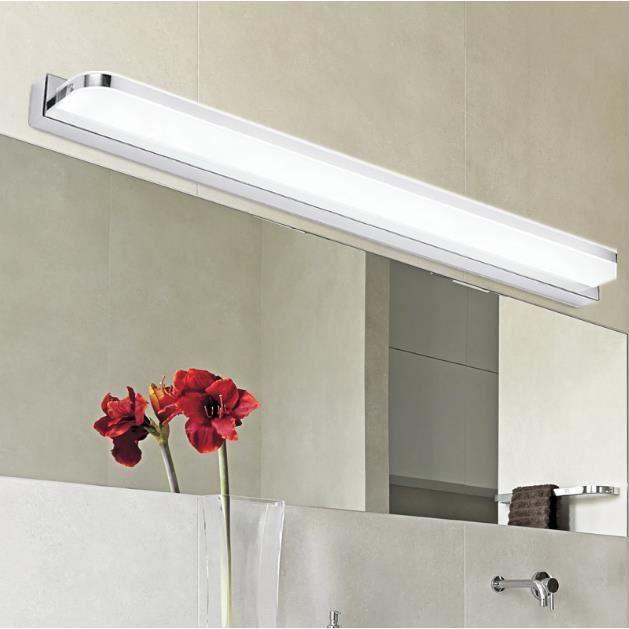 applique murale acrylique led miroir de courtoisie lampe. Black Bedroom Furniture Sets. Home Design Ideas