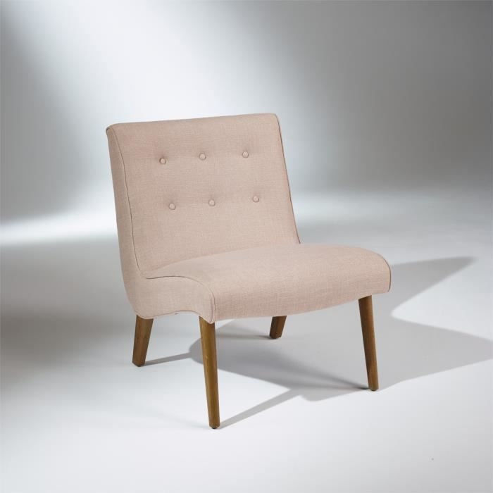 Fauteuil Chauffeuse ALYSEE Beige Achat Vente Chauffeuse Cdiscount - Fauteuil chauffeuse