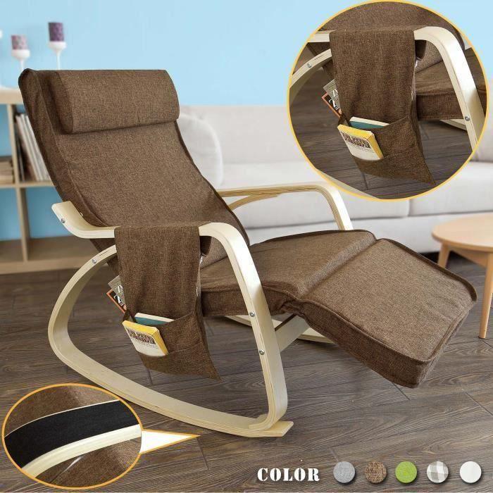 fauteuil bascule achat vente fauteuil bascule pas cher soldes d s le 10 janvier cdiscount. Black Bedroom Furniture Sets. Home Design Ideas