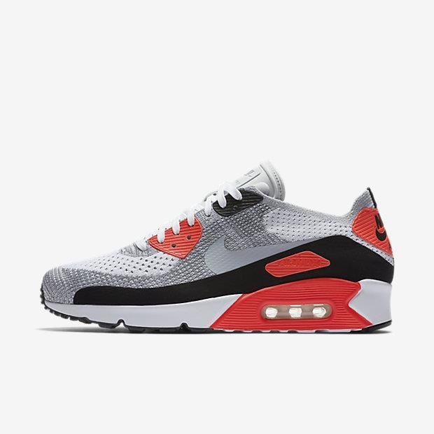 buy popular 3d168 90c51 Basket Chaussure pour Homme Nike Air Max 90 Ultra 2.0 Flyknit 875943-100