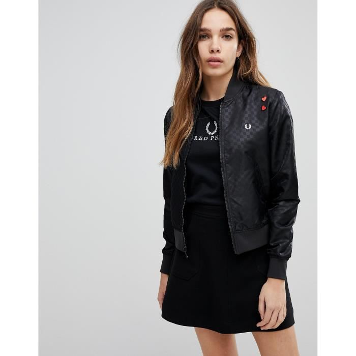 Cœurs Perry Taille Amy Winehouse Bomber 42 Fred Foundation Motif Broderies À ZPUwqqA